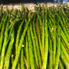 Baked Asparagus with Rosemary and Garlic