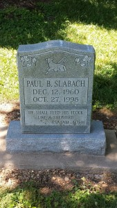 BIKE RIDE Paul's tombstone