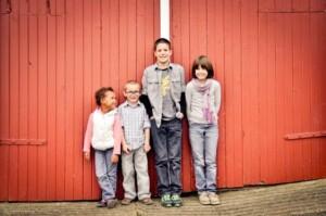 foster slagel by barn