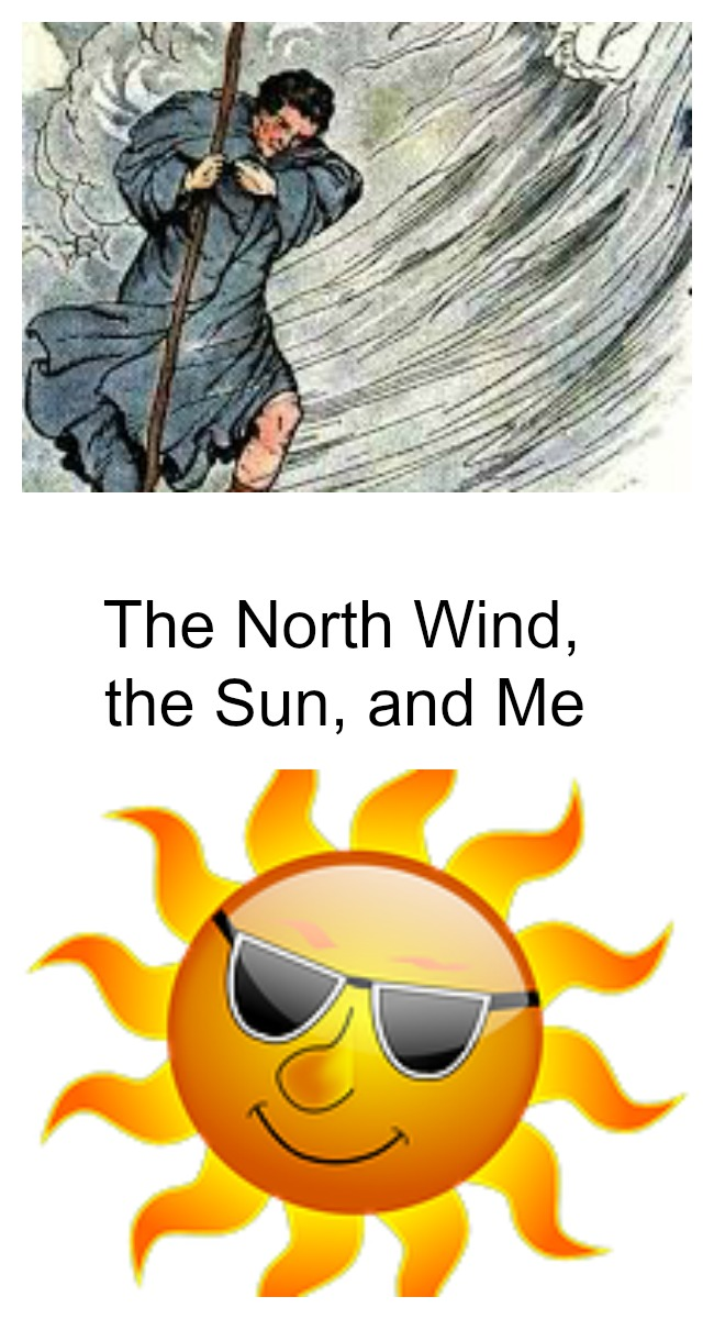 the north wind and the sun essay Hurricanes nowadays have higher wind  nearest the north geographical  analysis of the weather in space essay - on october 27, 2003, the sun came off the.