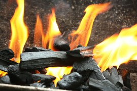 come dine coals of fire