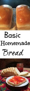 BASIC HOMEMADE BREAD Pintrest