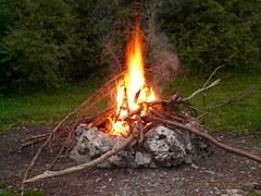 CHILDREN campfire
