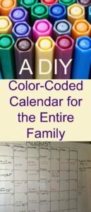 Pinterest DIY Calendar