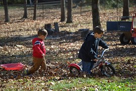mean mama boys playing yard