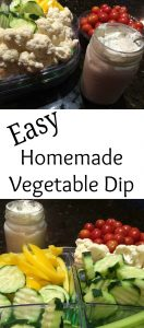 Pinterest Vegetable Dip