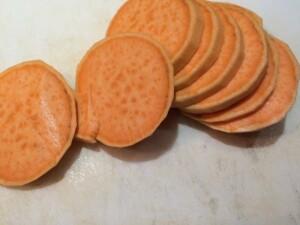 sweet potato rings