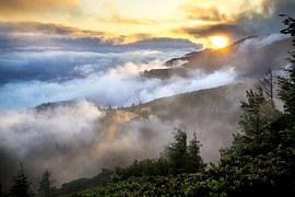 nurse mountains mist