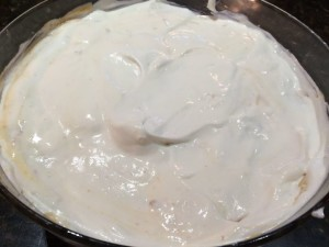 pudding cool whip on top