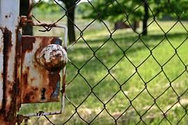 world rusty gate