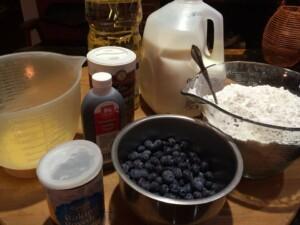 blueberies ingredients THREE