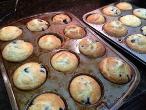 blueberries baked