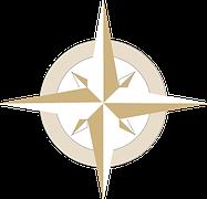 pilgrim compass rose