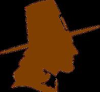 pilgrim siloutte