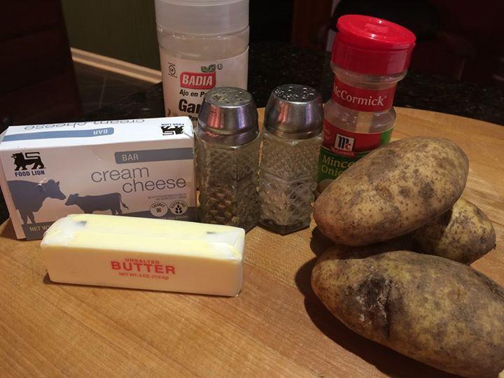 potatoes refrigerator ingredients