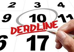 backwards deadline