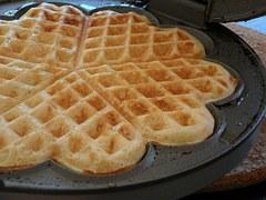 backwards waffles