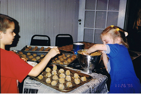 cookie baking J and SB 2