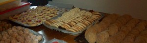 cookies dining room table