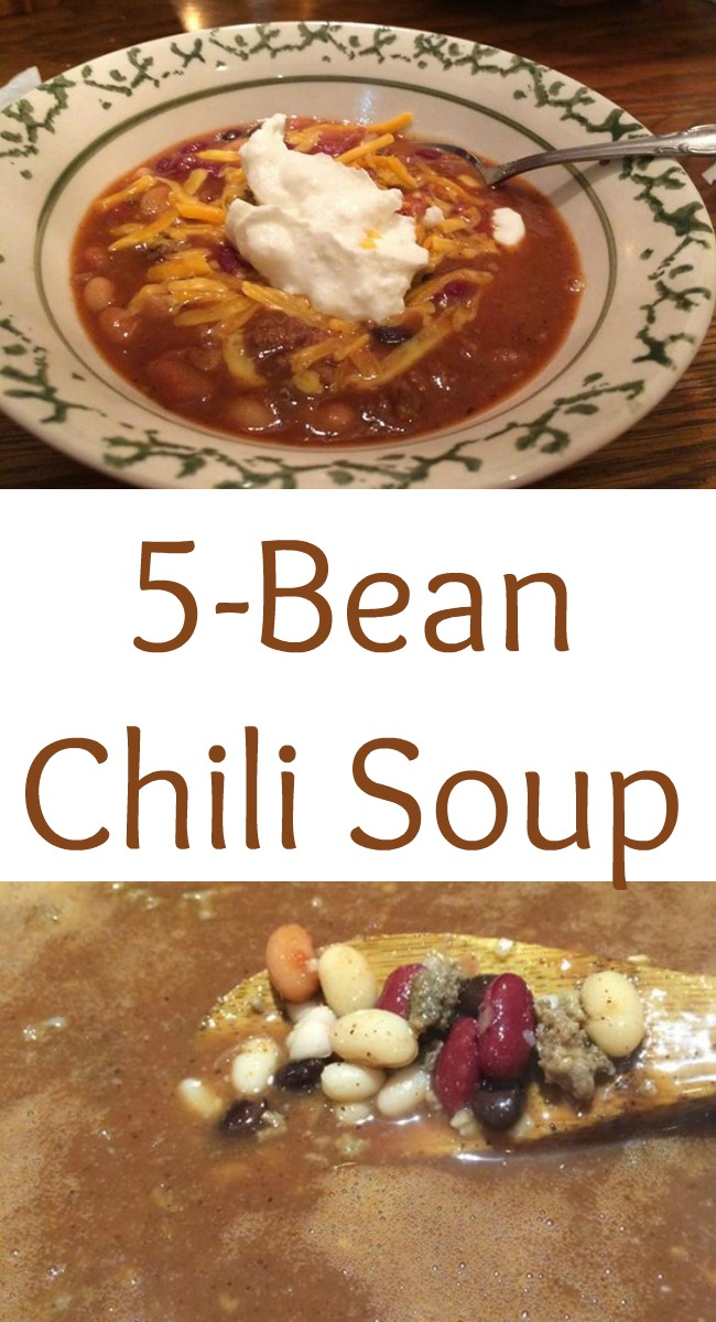 pinterest 5 bean chili soup