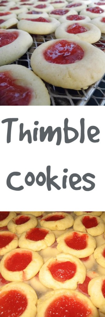pinterest thimble cookies