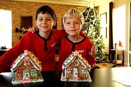 santa 2 boys houses