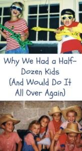 Pinterest Half Dozen kids