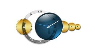 destiny blue clock