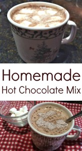 Pinterest Homemade Hot chocolate mix