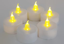 power battery candle