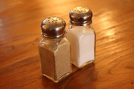 kitchen salt and pepper