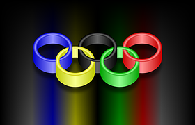 baton olympic rings