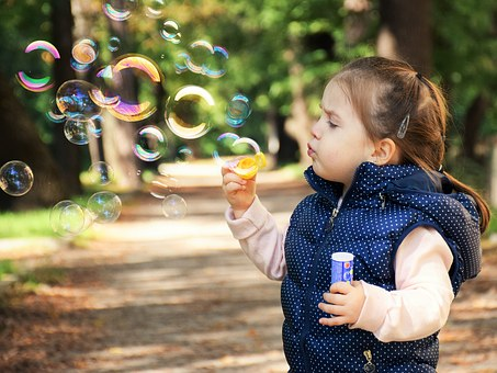 Happiness, like bubbles, can disappear