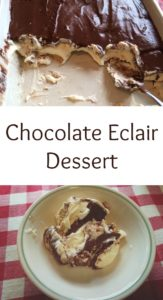 pinterest Chocolate Eclair Dessert