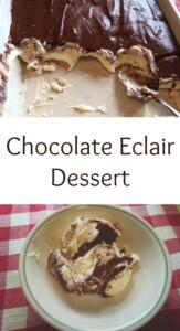 pinterest Chocolate Eclair Dessert