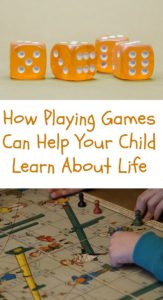 Playing Games Helps Your Child Learn About Life
