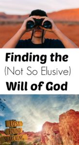 Pinterest Finding the Will of God
