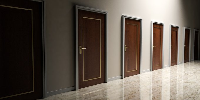 finding the will of God can be like finding an open door