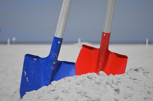 finding God's will can be like digging through the sand