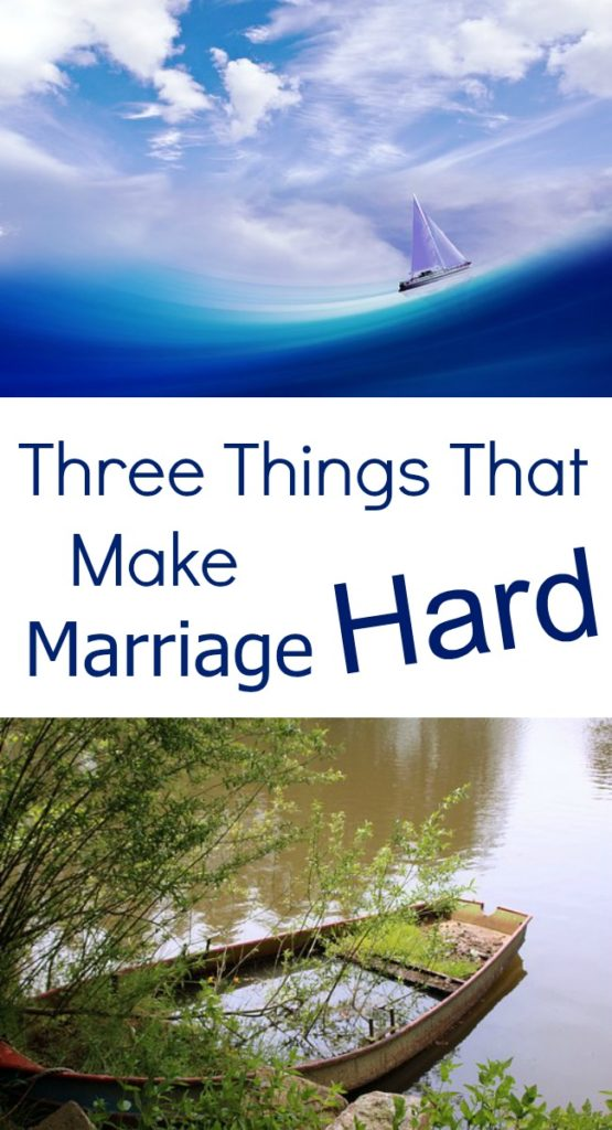 Pinterest 3 things that make marriage hard