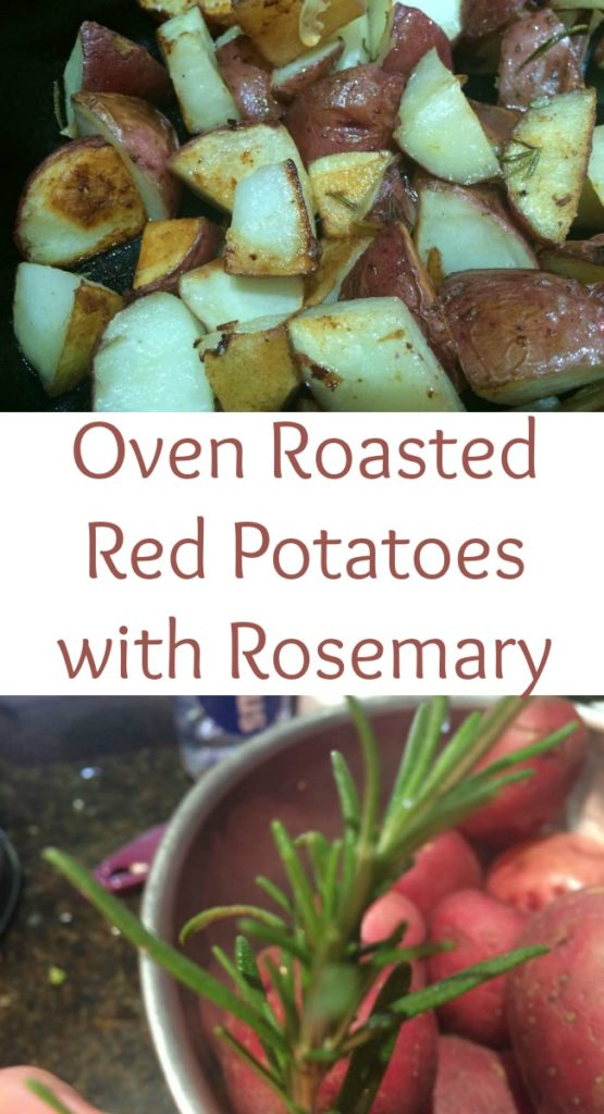 Pinterest Oven Roasted Red Potatoes with Rosemary
