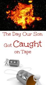 pinterest caught on tape