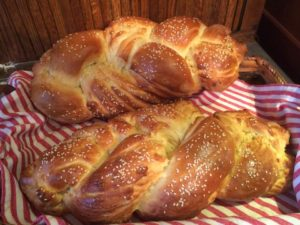 Sesame Braid Bread