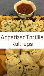 appetizer tortilla roll-ups