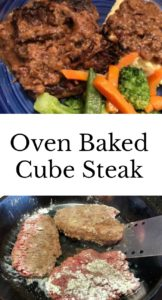 pinterest cube steak