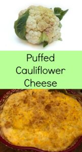 Pinterest Puffed Cauliflower Cheese