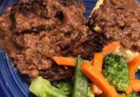 Oven Baked Cube Steak