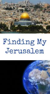 pinterest Finding my Jerusalem
