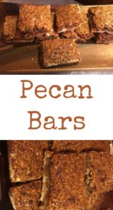 pinterest pecan bars