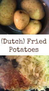 dutch fried potatoes